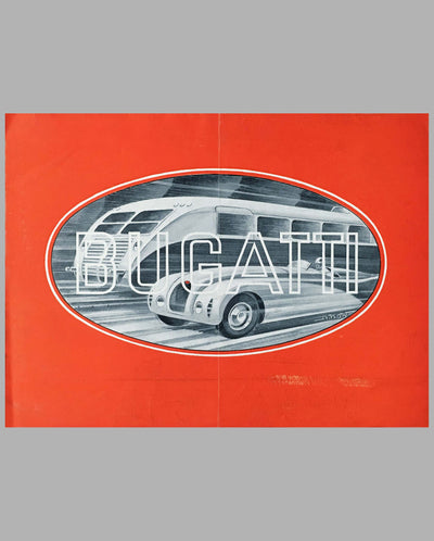 Bugatti Type 57, 57 S sales brochure