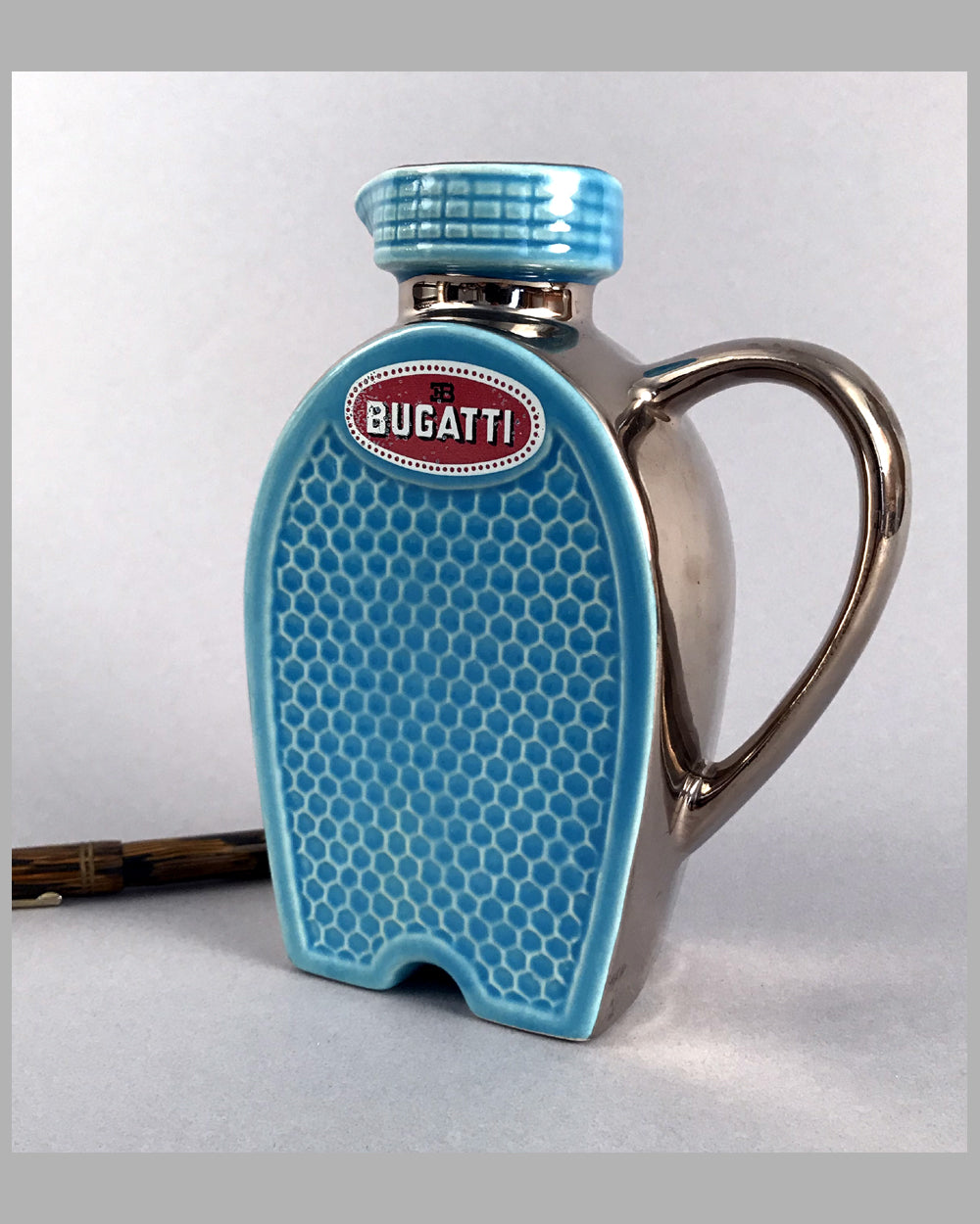 Le Chanteclair - Bugatti ceramic water pitcher, 1970's