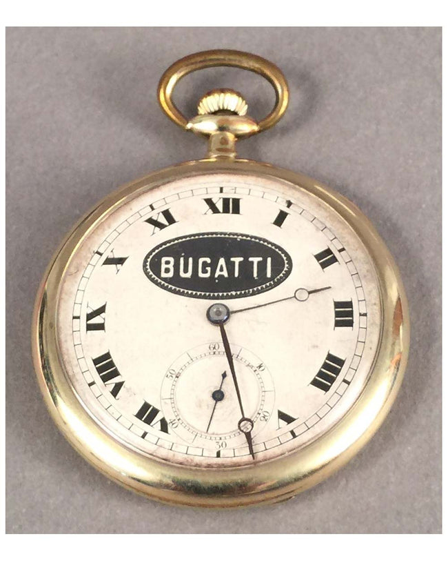 Bugatti pocket watch, Swiss made, 1920