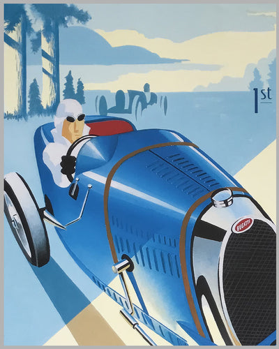First Canadian Bugatti Grand Prix & Rally event poster 2013