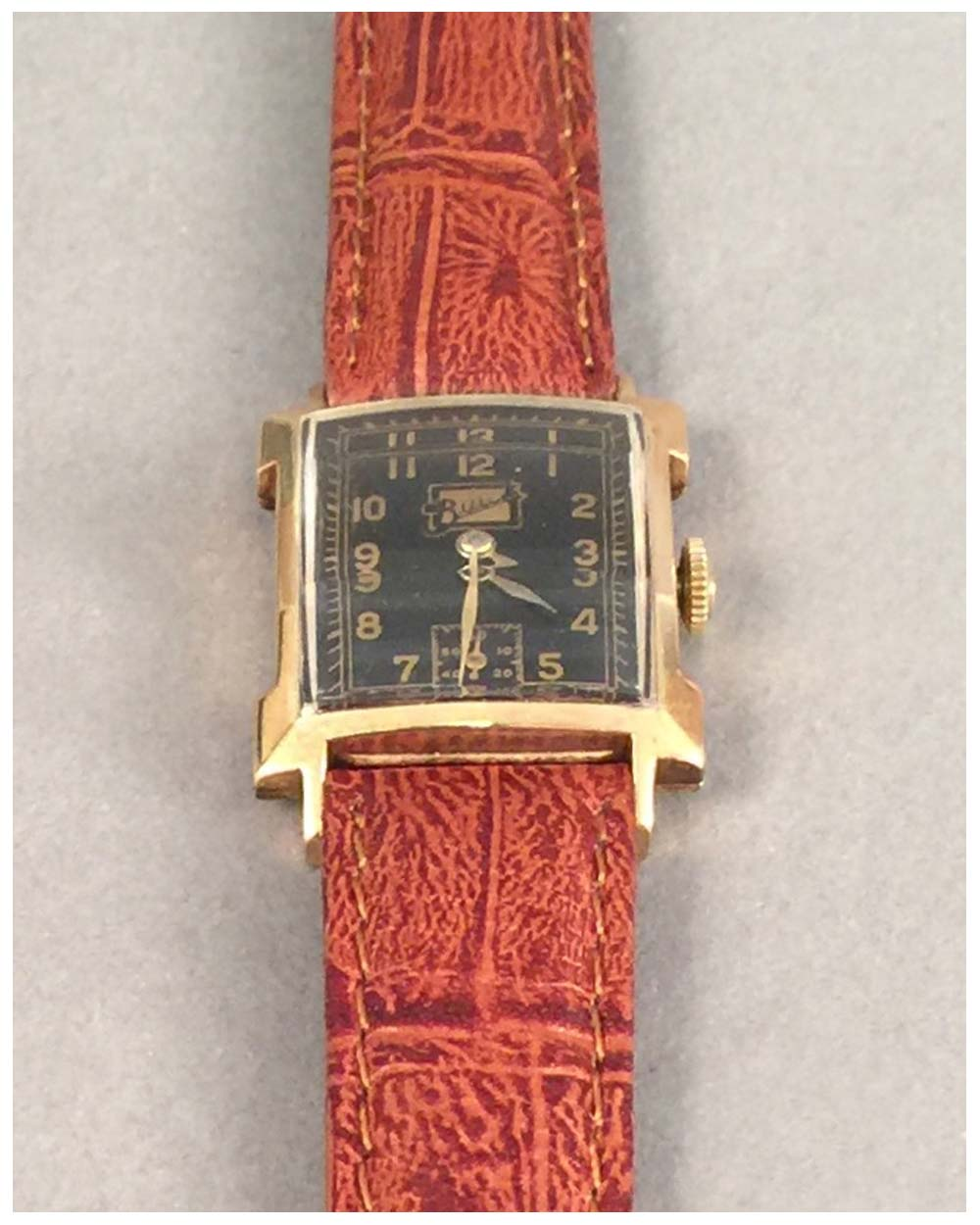 Buick Art Deco wrist watch