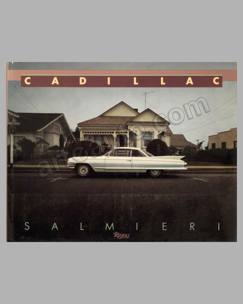 Cadillac book by S. Salmieri and O. Edwards, 1st ed., 1985