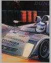 Cadillac at Le Mans print by Ken Eberts (USA), 2000, signed 2