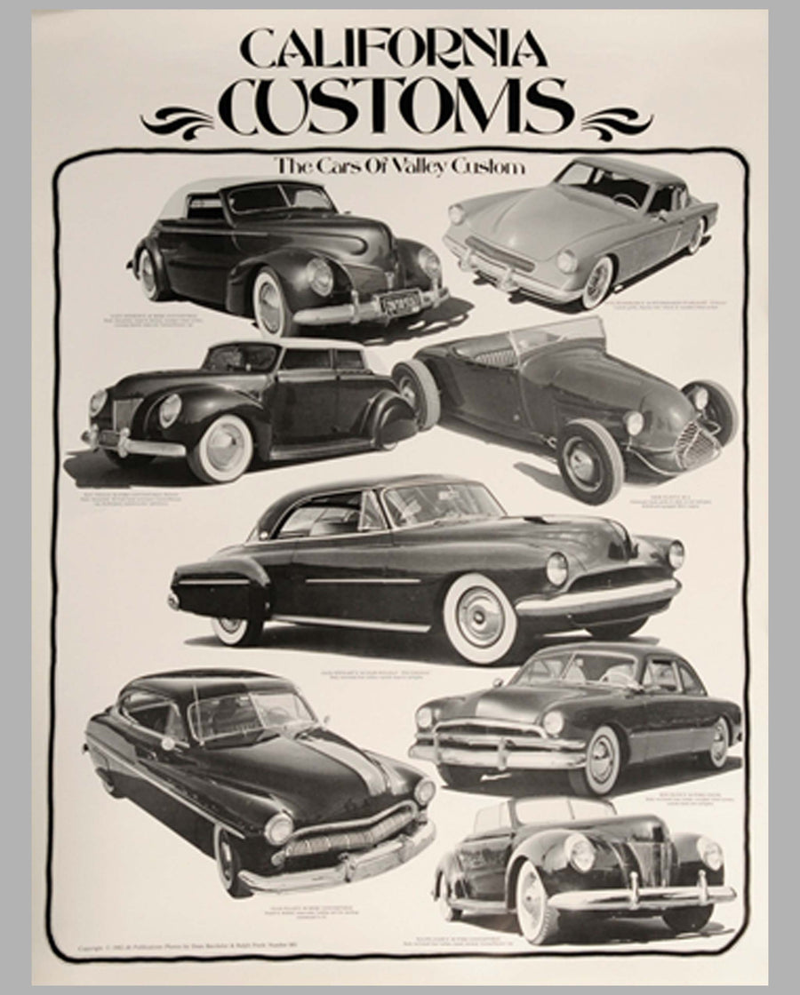 3 California Customs posters by db Publications (Dean Batchelor), page 3