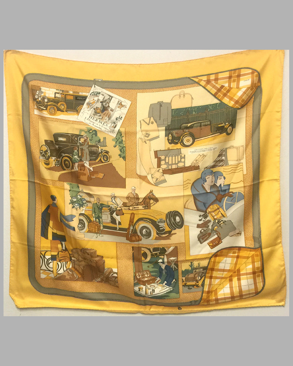 Hermes Vintage silk scarf by Caty (Cathy) Latham