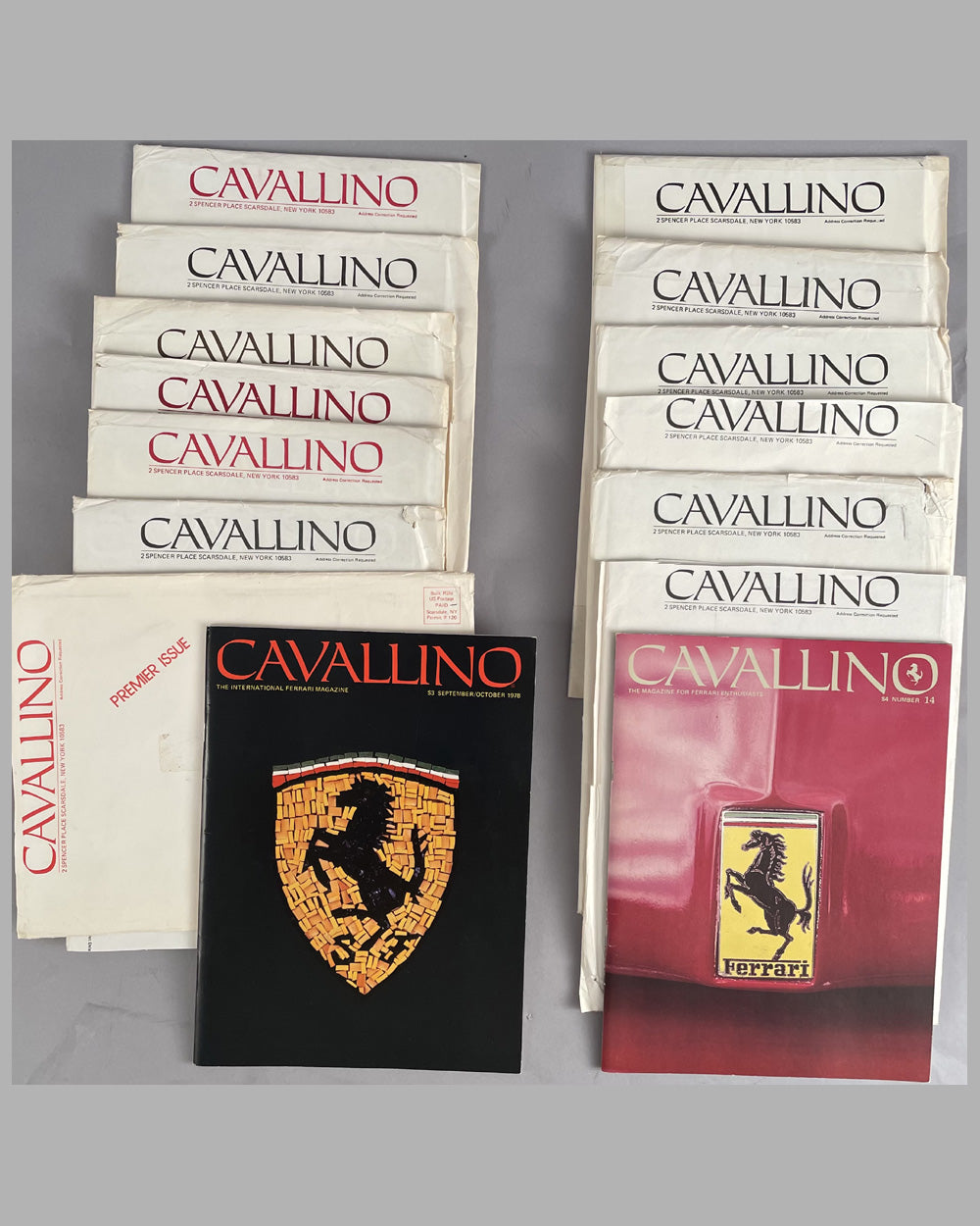 Cavallino Magazine from #1 through #14