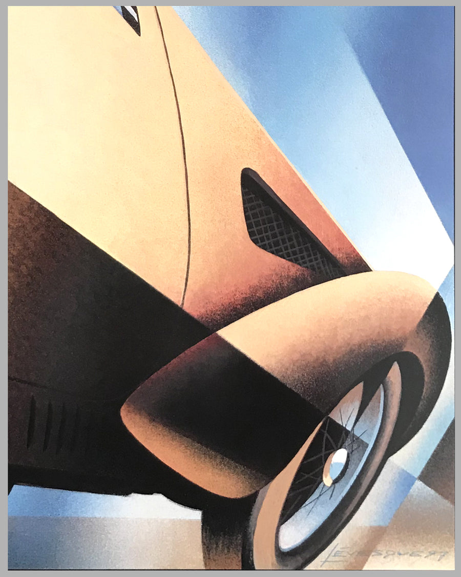 Kansas City Concours d'Elegance 1997 official event poster
