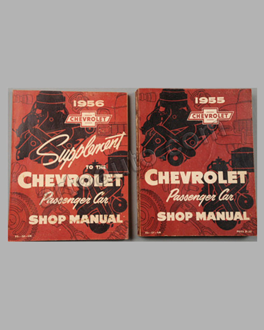 Two Chevrolet Shop Manuals published by the factory