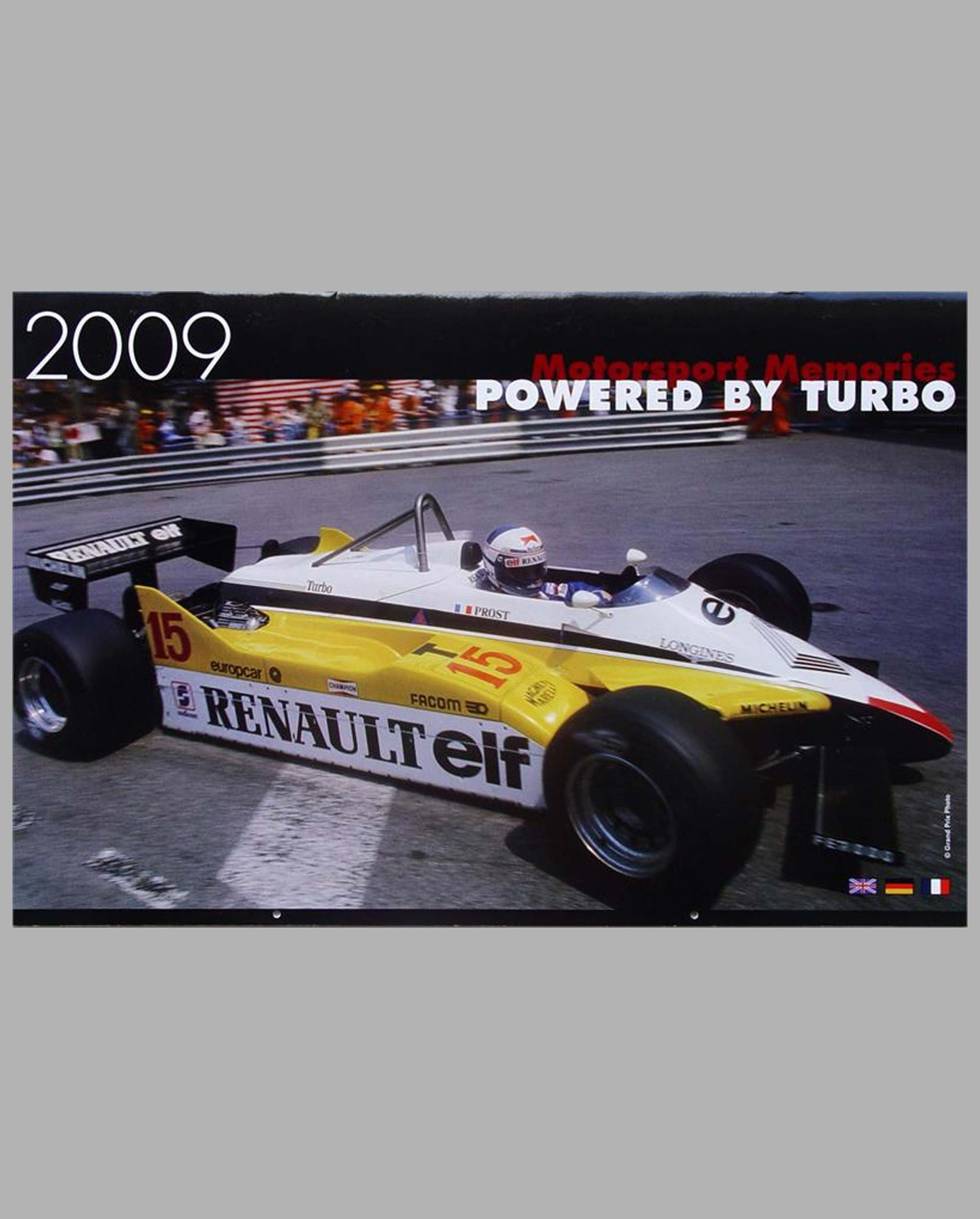 Classic Grand Prix Calendar for 2009