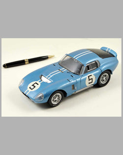 Ford Shelby Cobra Daytona Coupe diecast model by Exoto