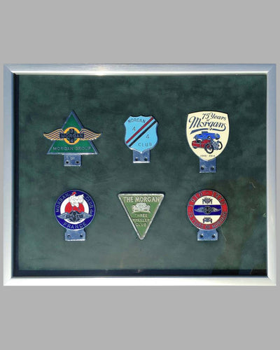 Collection of 6 Morgan Auto Company badges