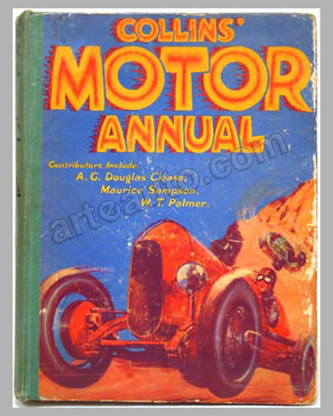 Collin's Motor Annual book