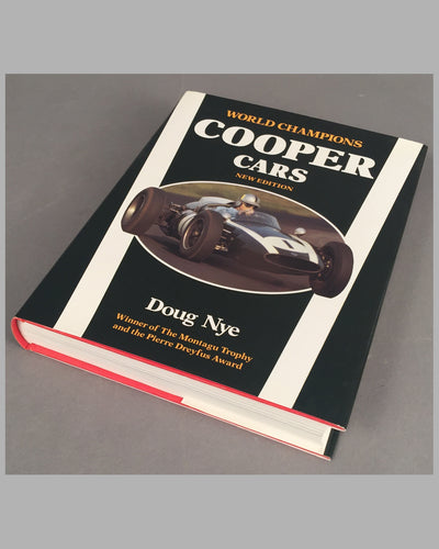 Cooper Cars New Edition, 1991, book by Doug Nye
