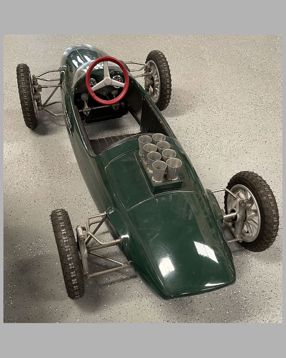 Early 1960 Cooper F1 motorized child car