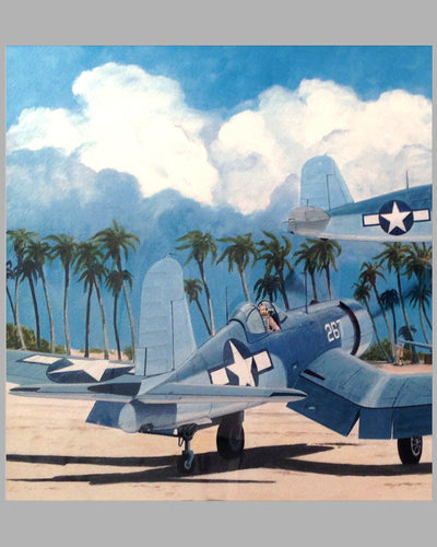 Corsair Scramble giclée by John Dormer, 2004