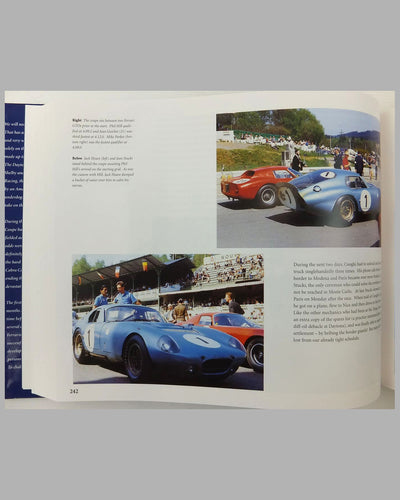 """Daytona Cobra Coupes - Carroll Shelby's 1965 World Champions"" book by Peter Brock, Dave Friedman & George Stauffer 2"