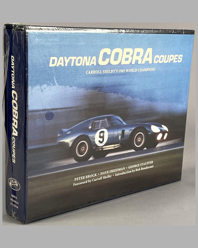 """Daytona Cobra Coupes - Carroll Shelby's 1965 World Champions"" book by Peter Brock, Dave Friedman & George Stauffer"