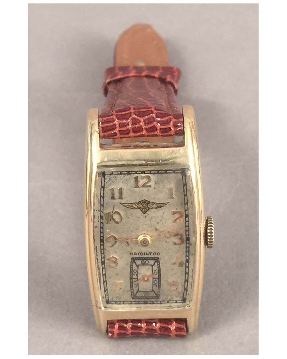 1938 Dodge - Plymouth Hamilton Curvex wrist watch