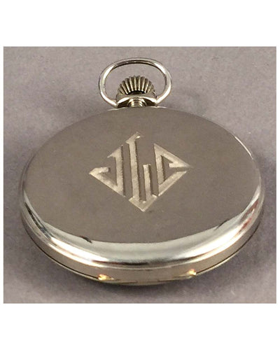 Duesenberg pocket watch by Howard, 1917 back