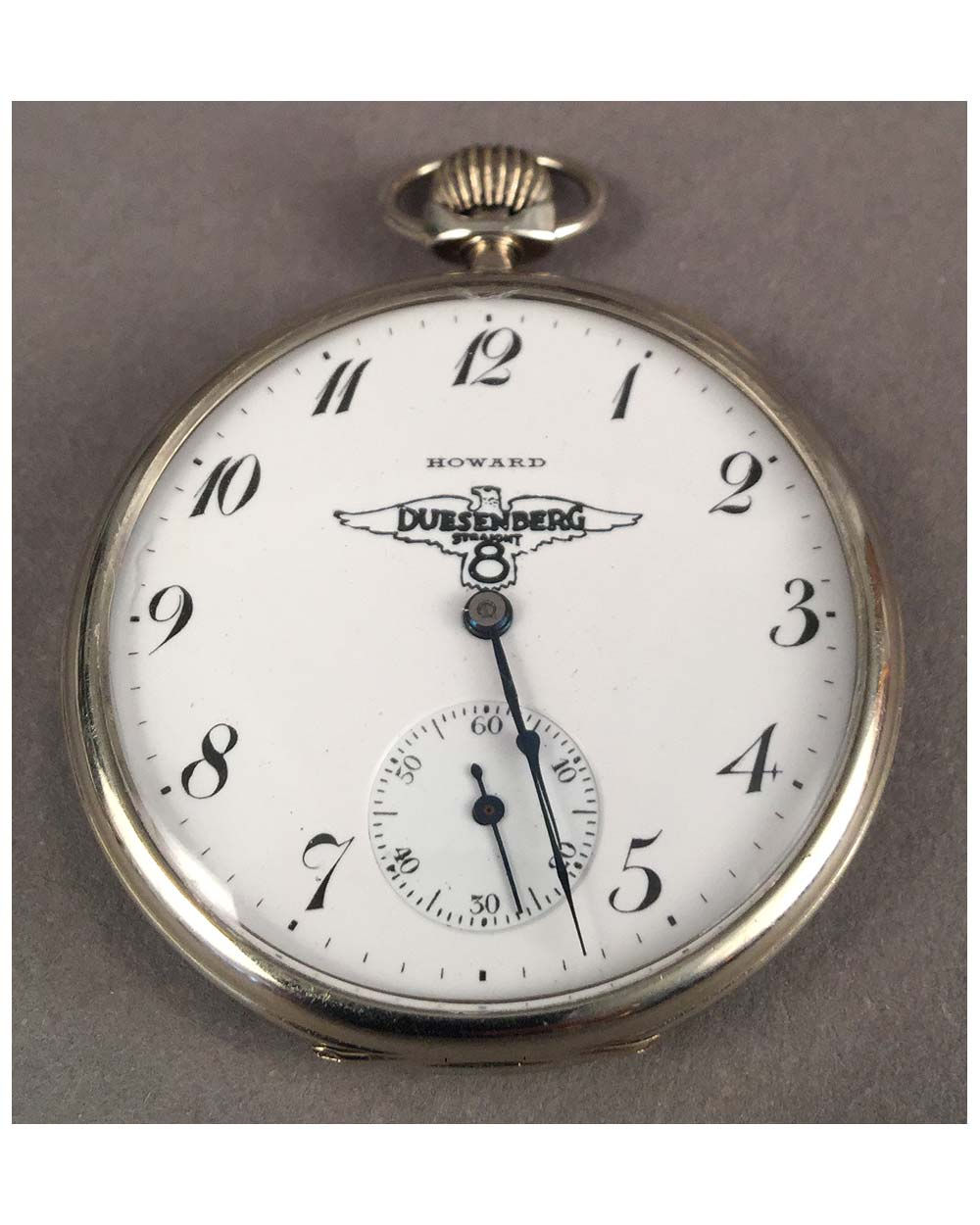 Duesenberg pocket watch By Howard, 1917