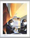 Duesenberg Model J, giclée on paper by Alain Lévesque, Canada, 2011