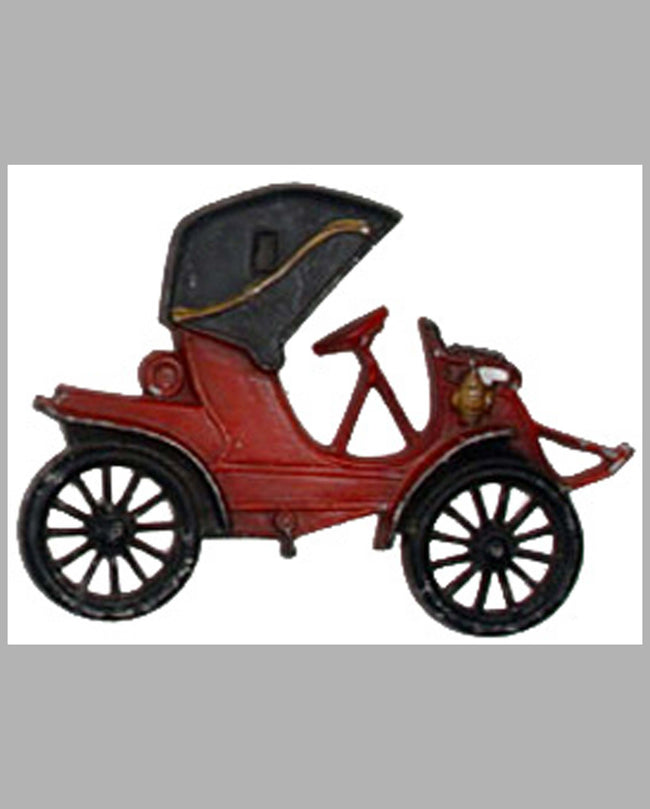Early 1900's Runabout Antique Automobile wall plaque