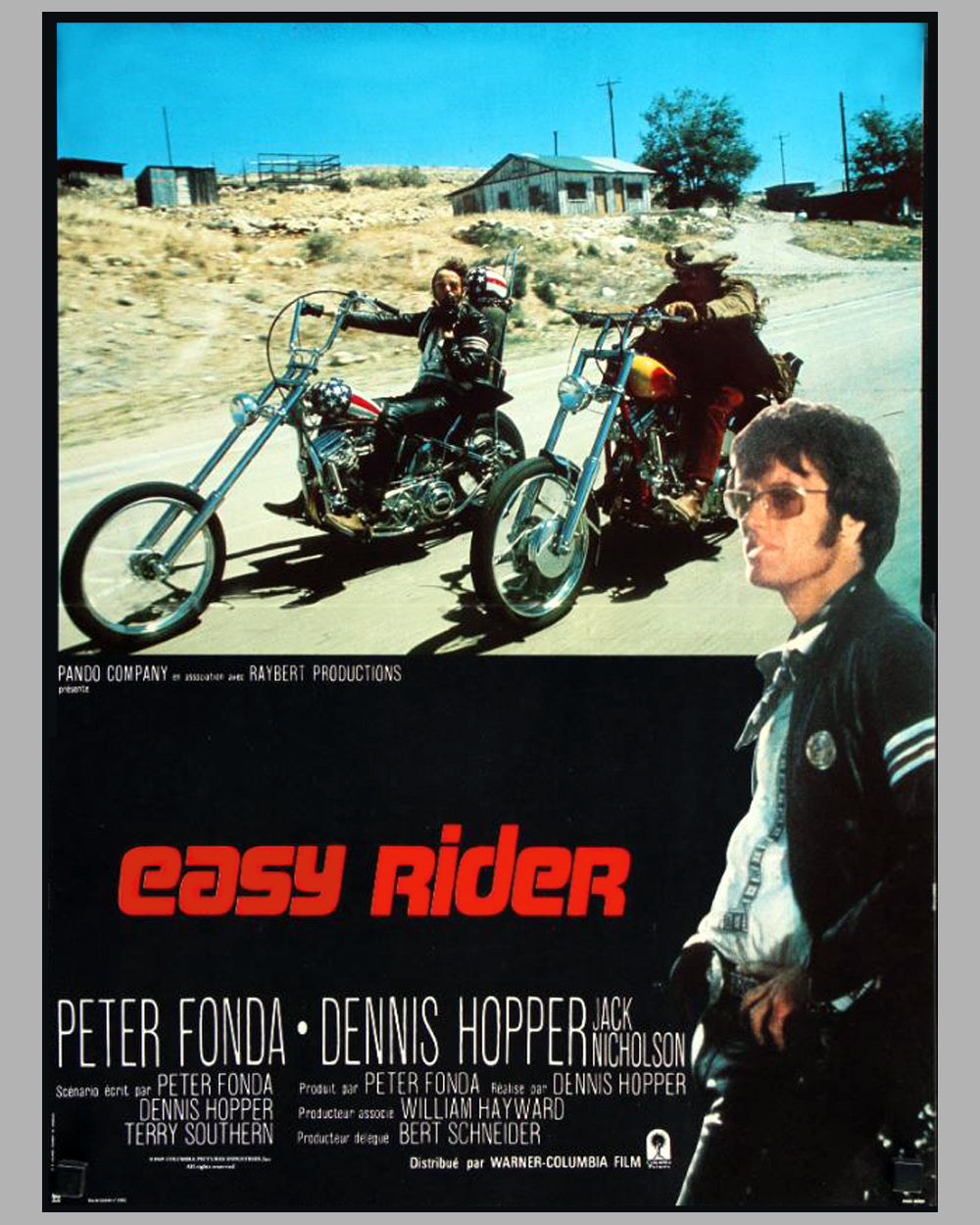 1969 Easy Rider movie poster