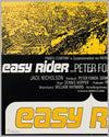 Easy Rider original movie poster, 1969 3