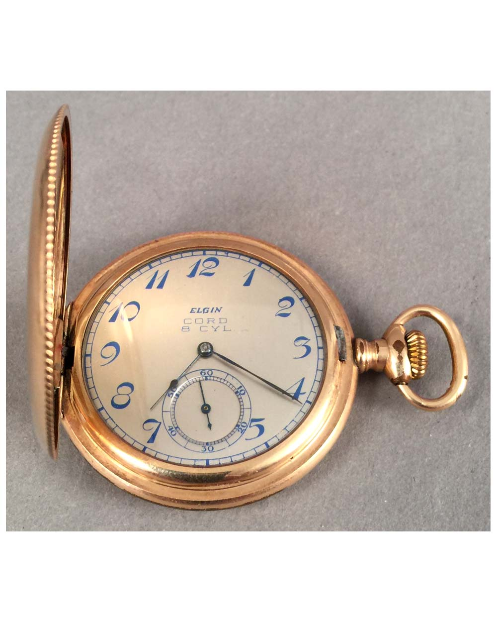 Cord 8 Cyl. pocket watch By Elgin, ca. 1930's