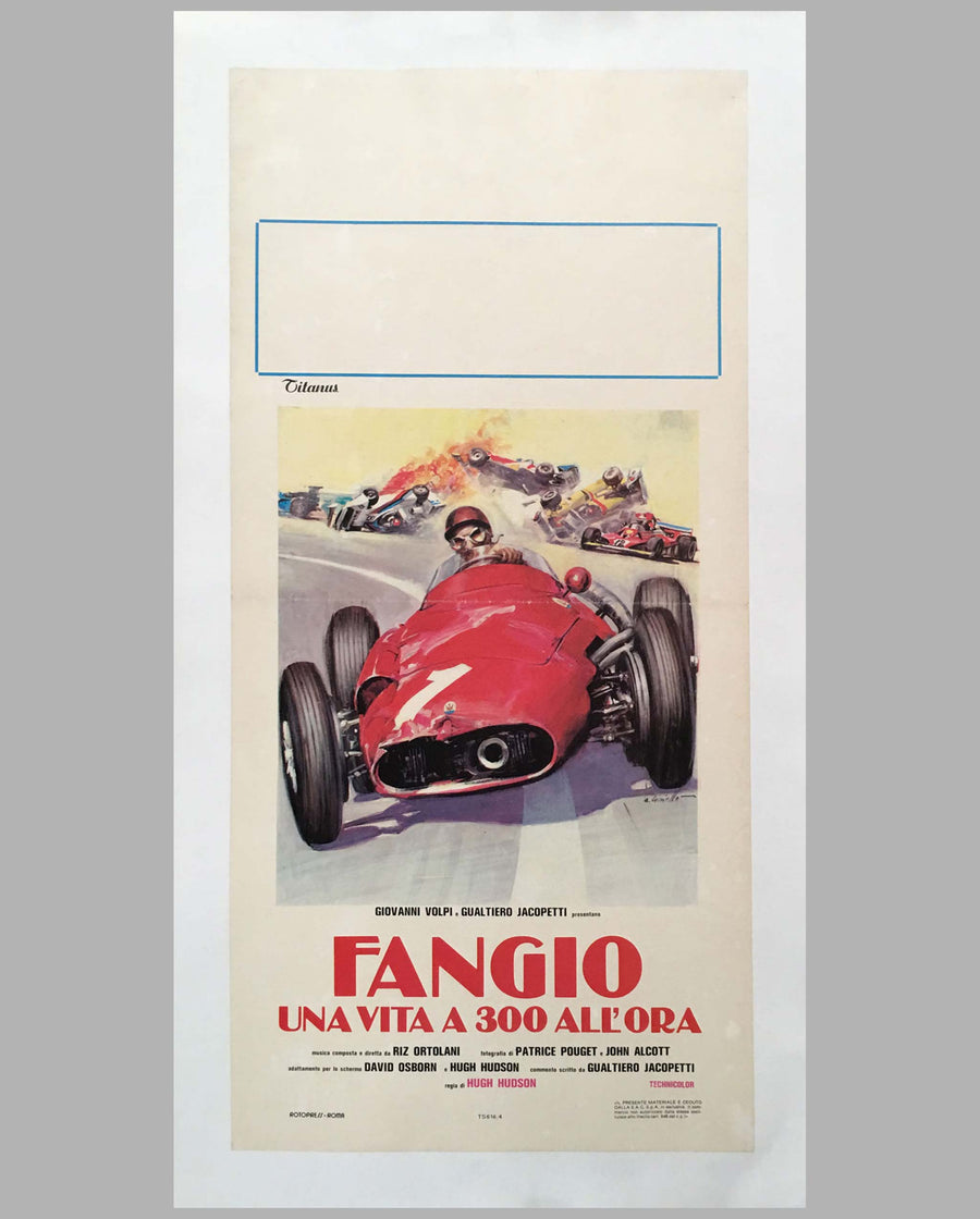 Fangio una vita a 300 all'ora movie poster