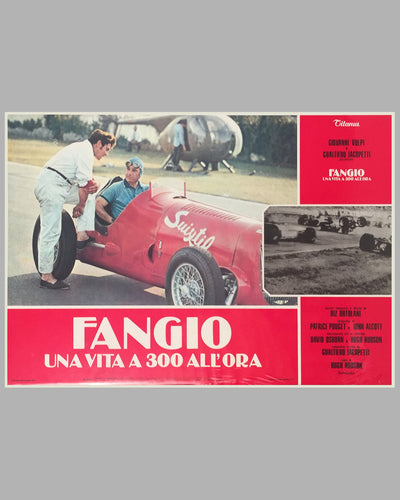 Fangio Una Vita a 300 All'ora collection of 8 lobby movie posters 3