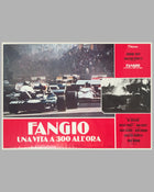 Fangio Una Vita a 300 All'ora collection of 8 lobby movie posters 5