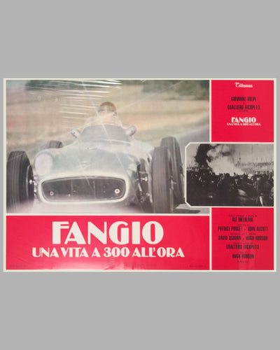 Fangio Una Vita a 300 All'ora collection of 8 lobby movie posters 9