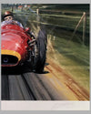 Fangio - The Maestro print by Nicholas Watts, autographed by Juan Manuel Fangio 3