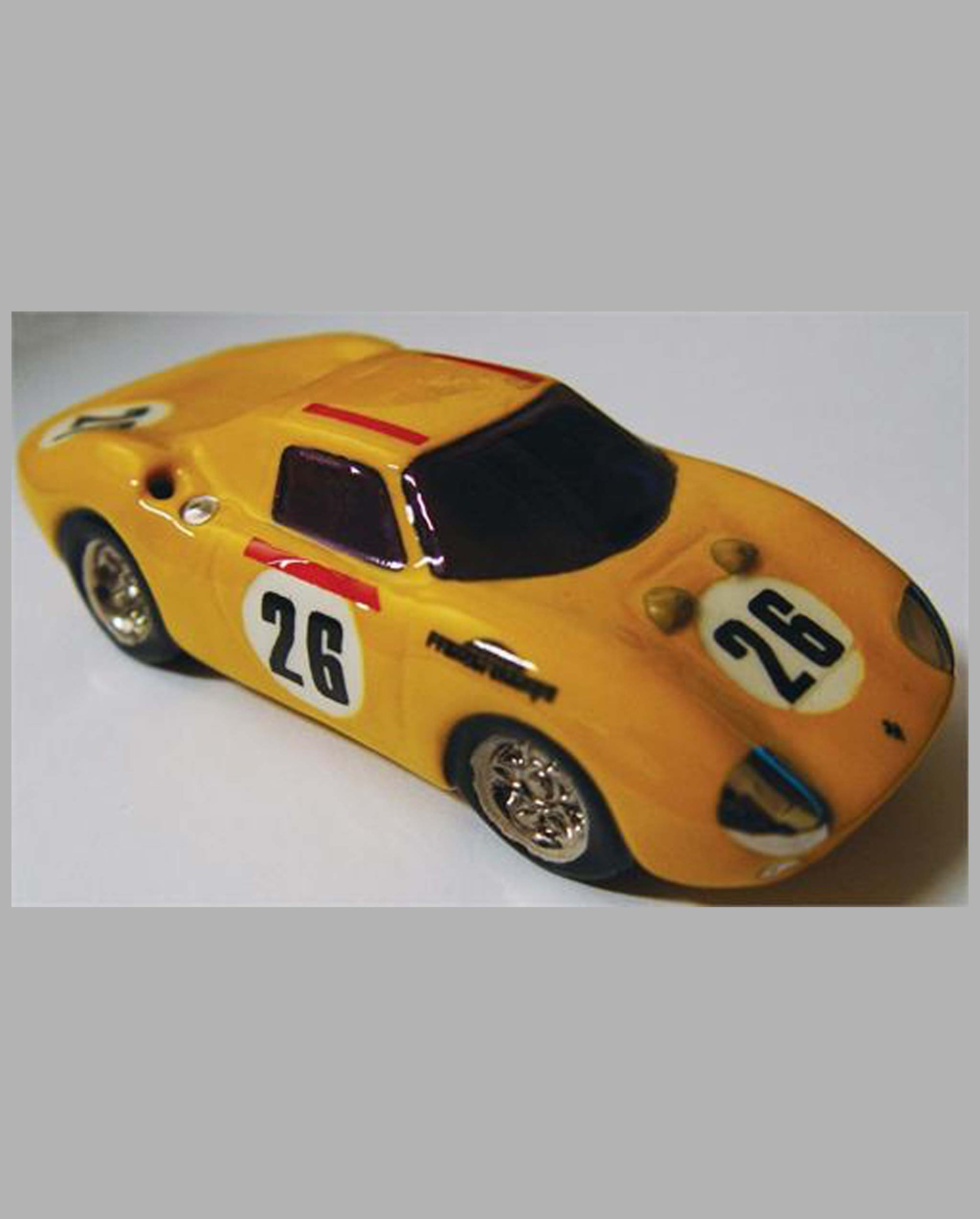 Ferrari 250 LM Ecurie Francorchamps ceramic car by Scott Schleh (USA)