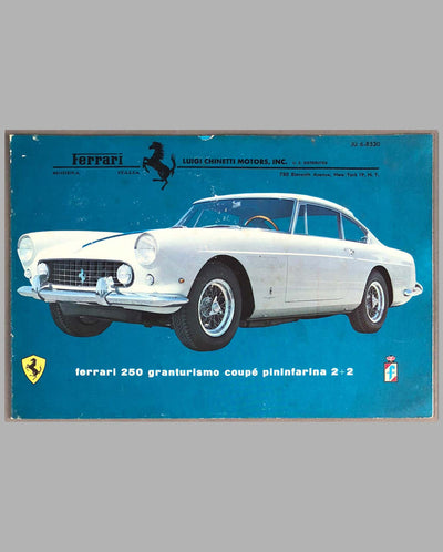 Ferrari 250 GTE 2+2 Factory Sales Brochure