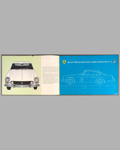 Ferrari 250 GTE 2+2 Factory Sales Brochure inside