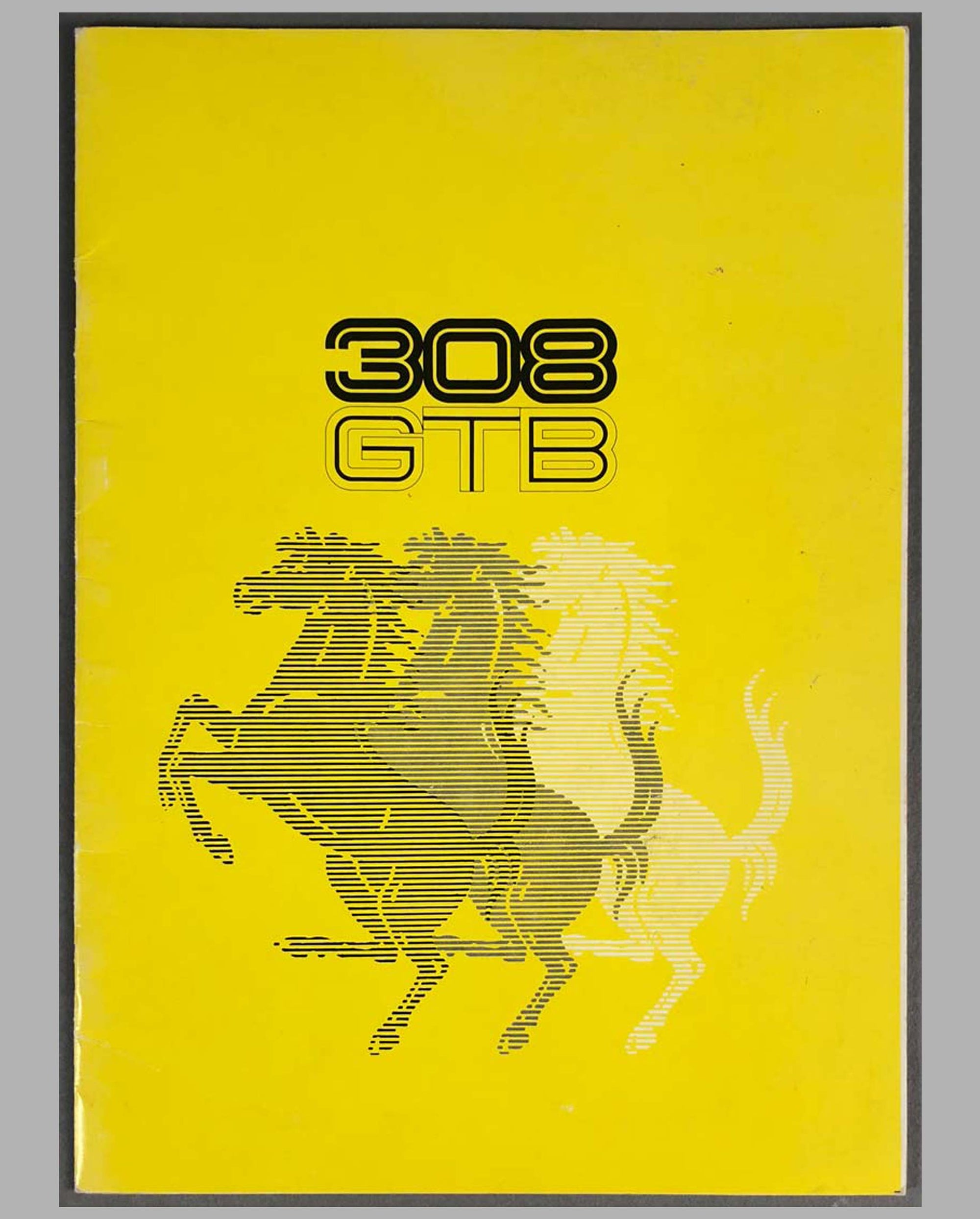 Ferrari 308 GTB Factory Sales Brochure