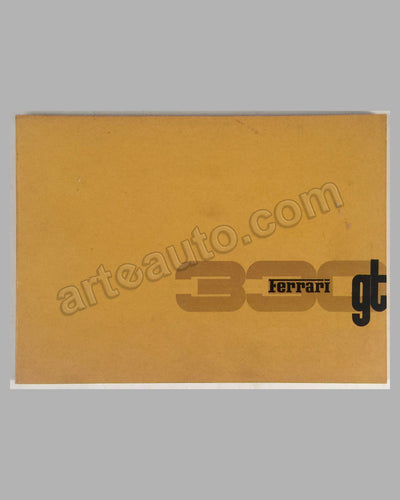 Ferrari 330 GT Series I original factory spare parts catalog