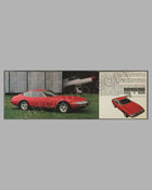 Ferrari 365 GTB4 original factory brochure