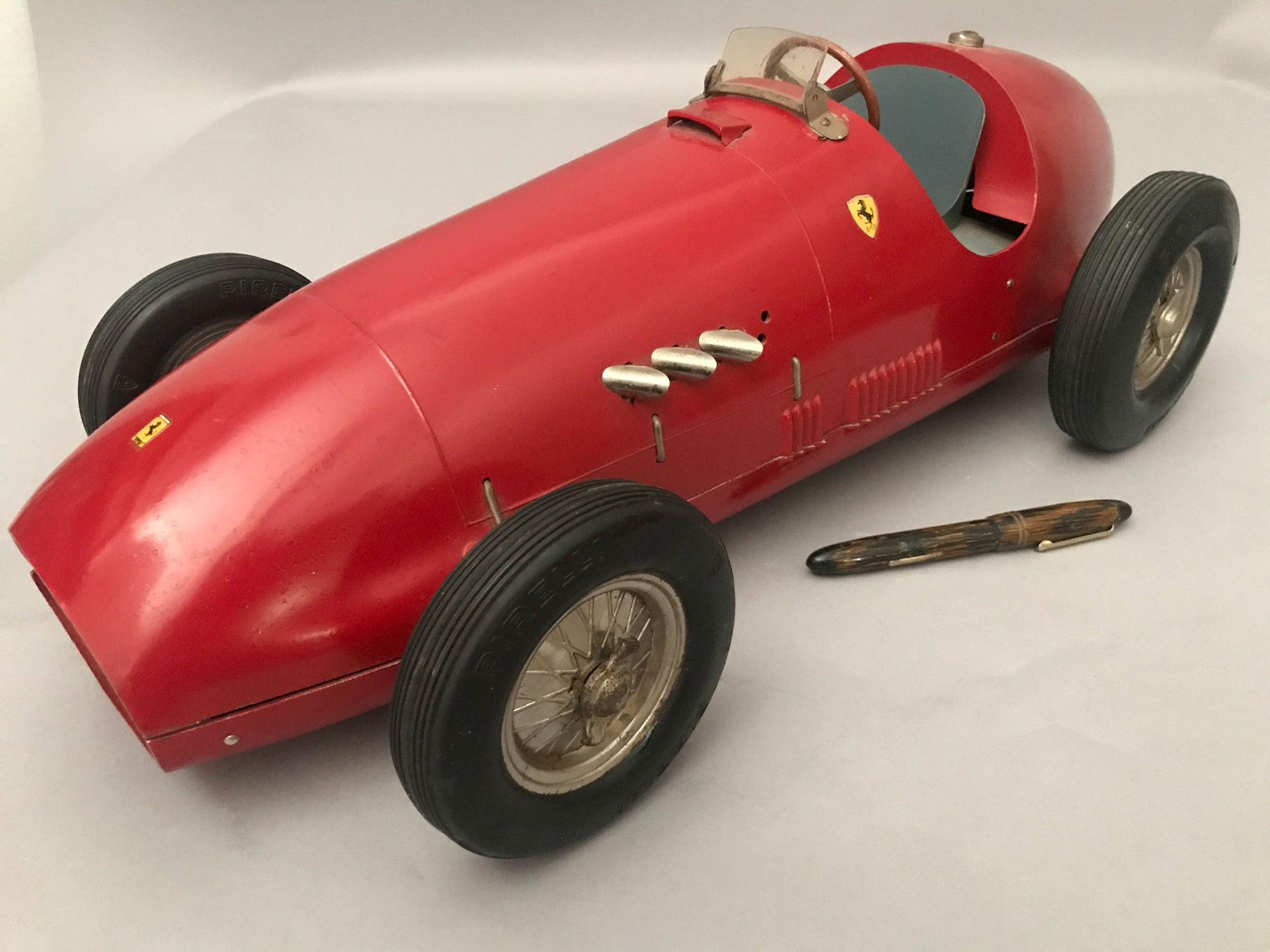 Ferrari 500 F II toy car - first Ferrari toy ever made
