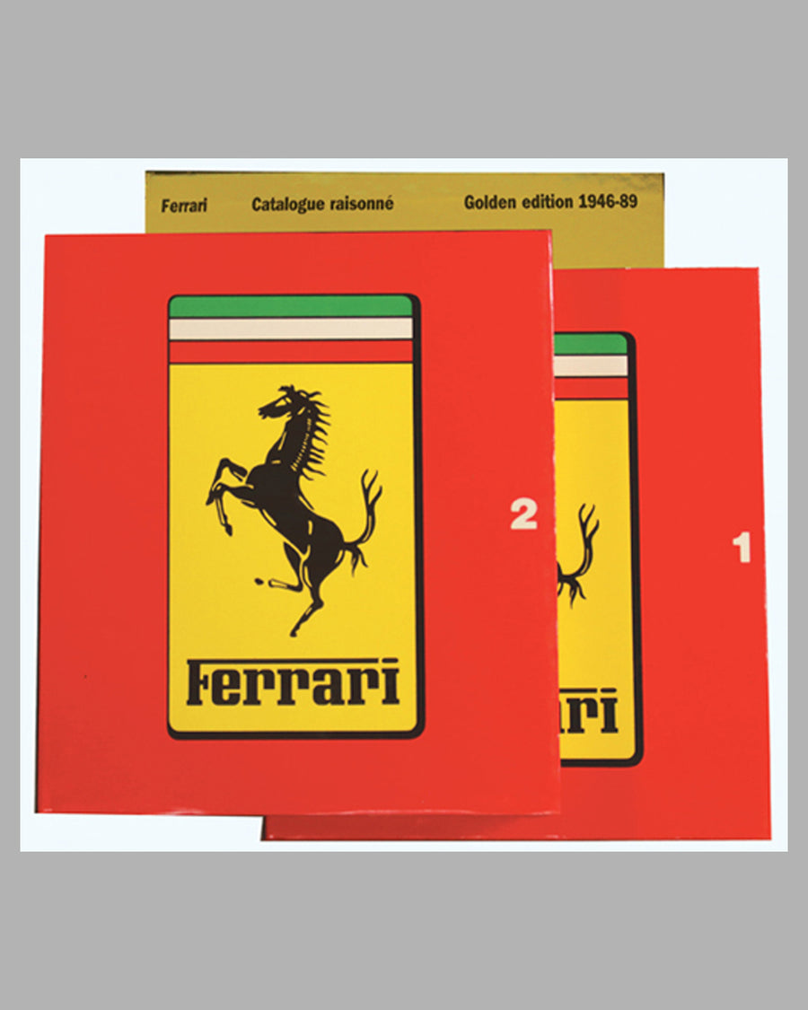 Ferrari Catalogue Raisonne Golden Edition 1946-89 Book