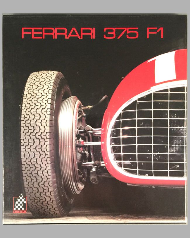 Ferrari 375 F1 book by Gino Rancati and Pietro Carrieri