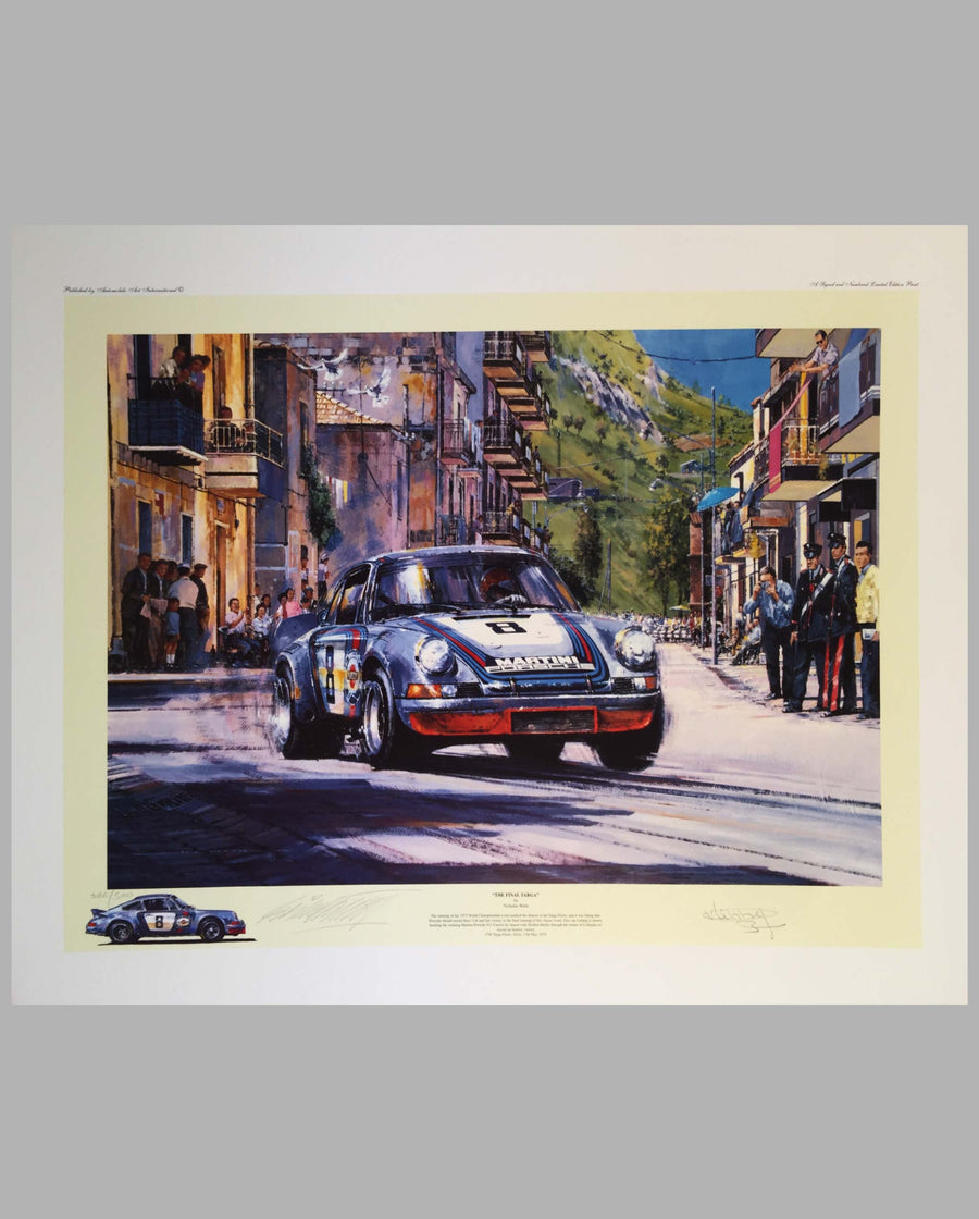 The Final Targa print by Nicholas Watts