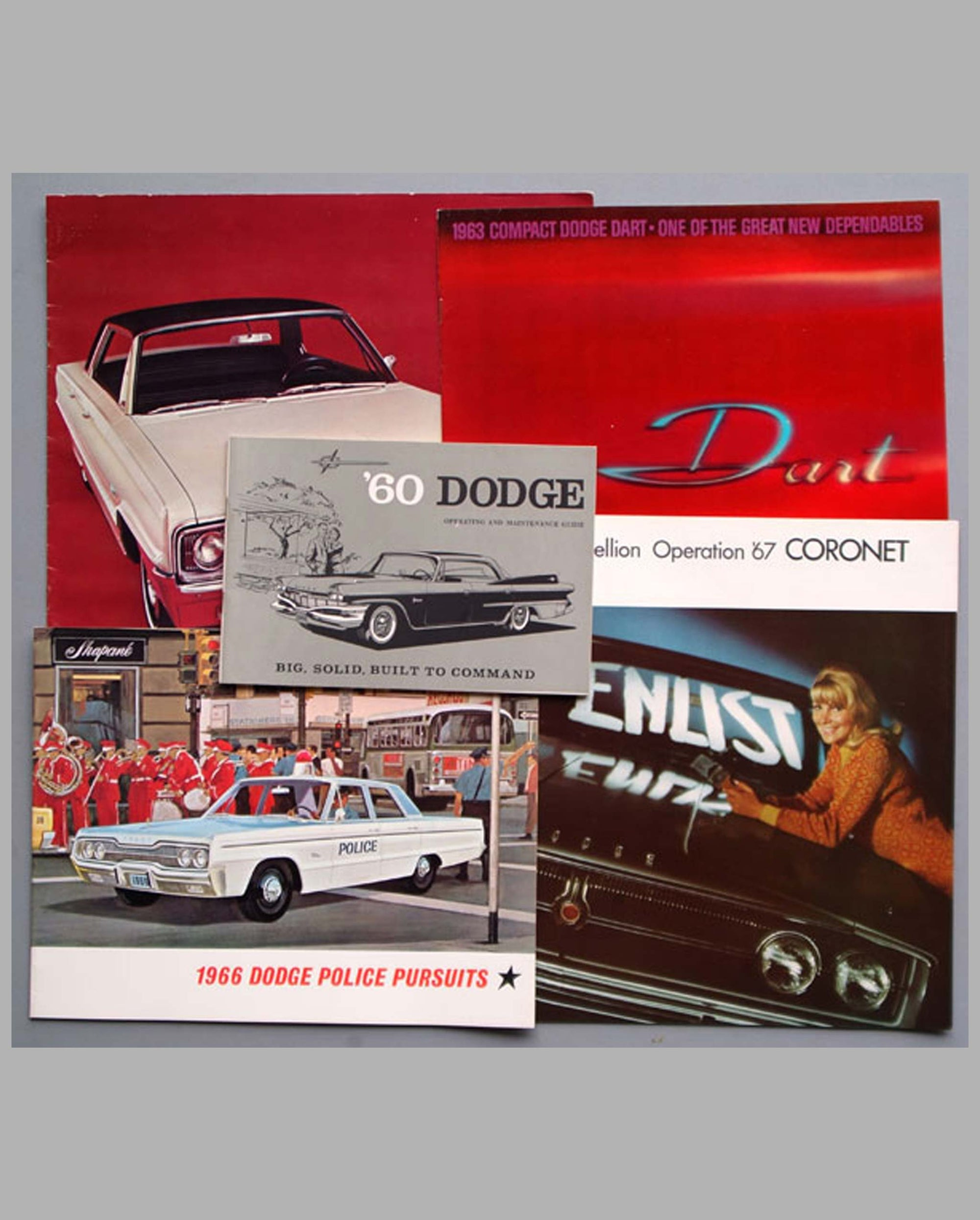 Five 1960's Dodge publications