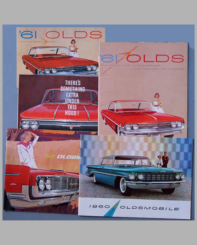 Five Early 1960's Oldsmobile sales brochures