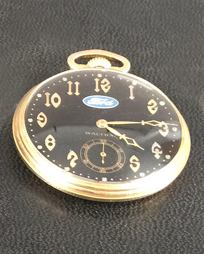 32 - Ford pocket watch by Waltham