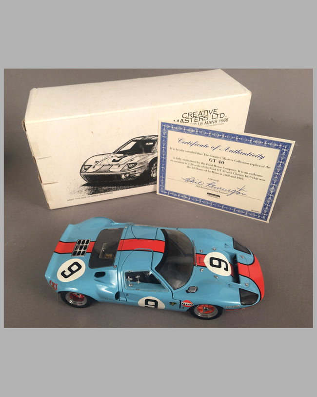 Ford GT 40 die cast model