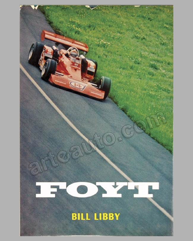 Foyt book by B. Libby