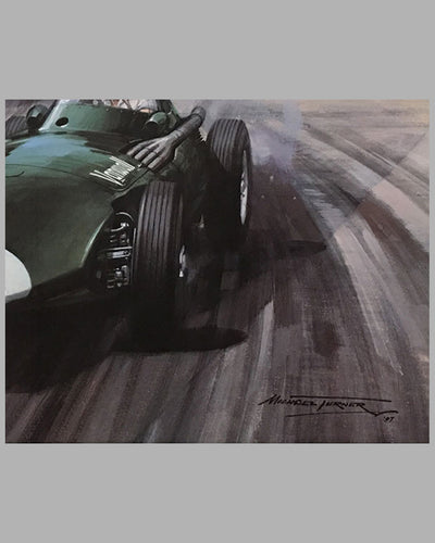 1957 Grand prix of Pescara print by Michael Turner 2